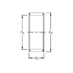Timken WJC-101208 Rolamentos de agulha