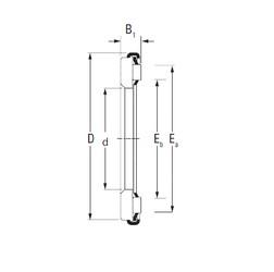 Timken AX 6 60 85 Rolamentos de agulha