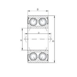 ISO 3315 ZZ Rolamentos de esferas de contacto angular