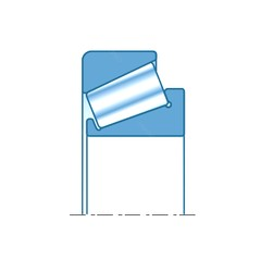 61,976 mm x 99,979 mm x 24,608 mm  NTN 4T-28990/28919 Rolamentos de rolos gravados