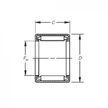 Timken B-2412 Rolamentos de agulha