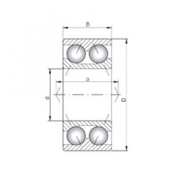 ISO 3207 Rolamentos de esferas de contacto angular
