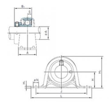NACHI UCFX12 Unidades de rolamento