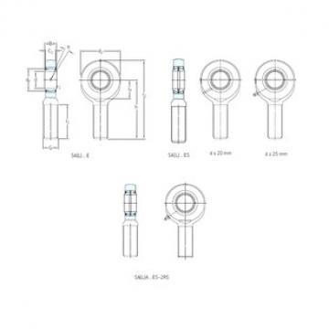 SKF SA50ES-2RS Rolamentos simples