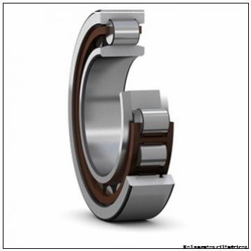 85 mm x 180 mm x 41 mm  FAG NJ317-E-TVP2 Rolamentos cilíndricos