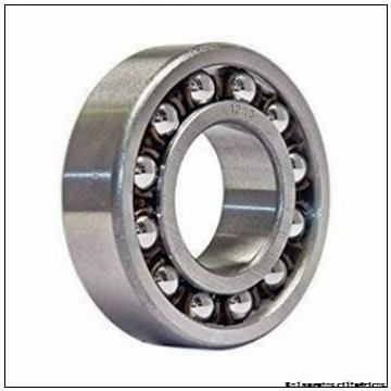 45 mm x 75 mm x 16 mm  ISO 7009 A Rolamentos de esferas de contacto angular