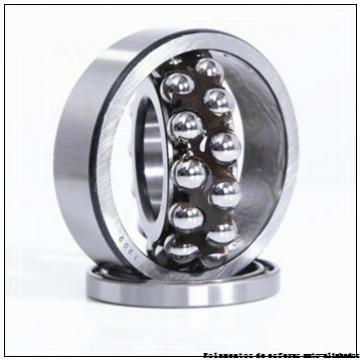 139,7 mm x 279,4 mm x 50,8 mm  SIGMA NMJ 5.1/2 Rolamentos de esferas auto-alinhados