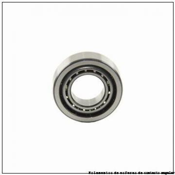 1,984 mm x 6,35 mm x 2,38 mm  ZEN SFR1-4 Rolamentos de esferas profundas