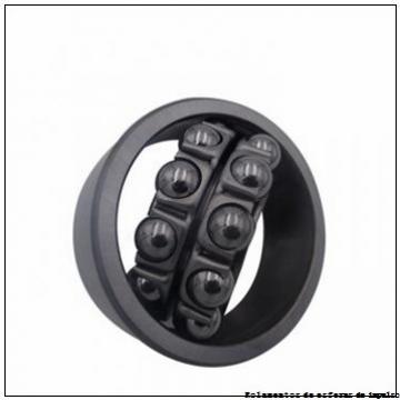 85,725 mm x 190,5 mm x 39,69 mm  SIGMA NMJ 3.3/8 Rolamentos de esferas auto-alinhados