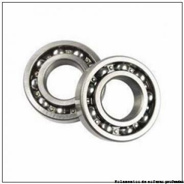 40 mm x 110 mm x 27 mm  ISO 7408 B Rolamentos de esferas de contacto angular