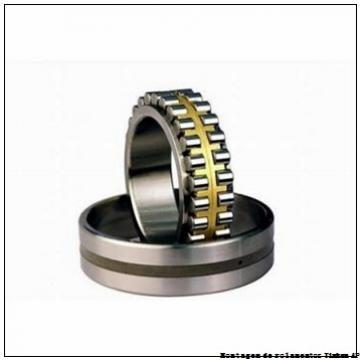 HM136948 HM136916XD HM136948XA K147767      unidades de rolamentos de rolos cônicos compactos