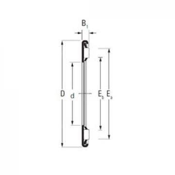 Timken AX 7 15 Rolamentos de agulha
