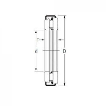 Timken AXZ 8 40 61 Rolamentos de agulha