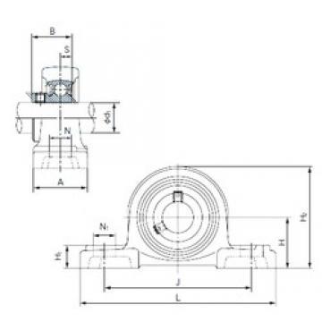 NACHI BP207 Unidades de rolamento