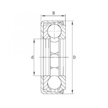 INA F-550381 Rolamentos de esferas de impulso