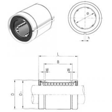 12 mm x 22 mm x 22,9 mm  Samick LME12AJ Rolamentos lineares